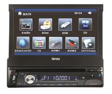 Marshal ME-1813 AV Car Multimedia with Bluetooth